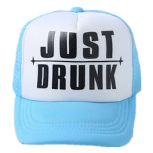 Load image into Gallery viewer, 2017 new JUST DRUNK bride wedding Bridal Party Caps Hen Party baseball Trucker Rapper Cap Hats Bachelorette baseball cap