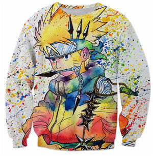 Image of PLstar Cosmos Crewneck Sweatshirt hip-hop Biggie Smalls cozy Hoodies Colorful Fashion Clothing Women Men Casual tops Jumper