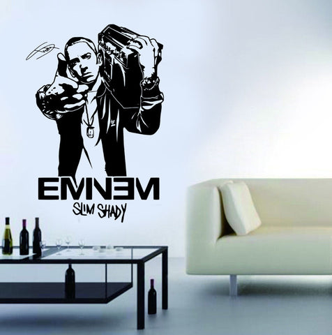 EMINEM Rapper Vinyl Wall Art Stickers