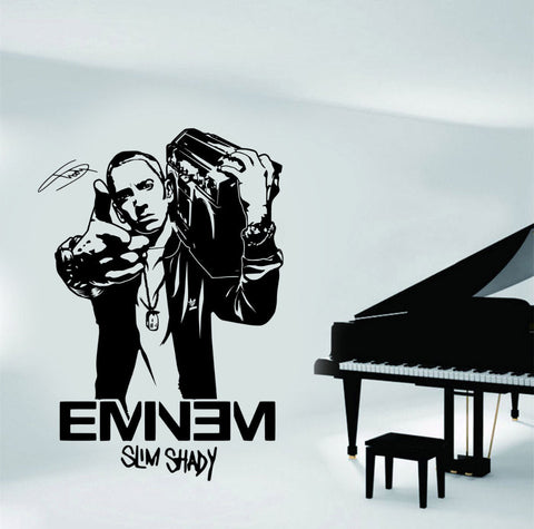 Image of EMINEM Rapper Vinyl Wall Art Stickers