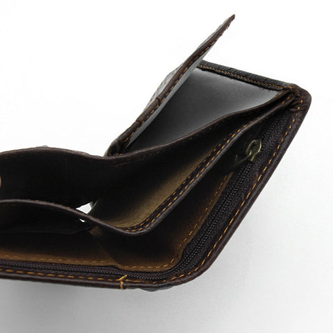 Image of Leather Wallet Wolf&Eagle