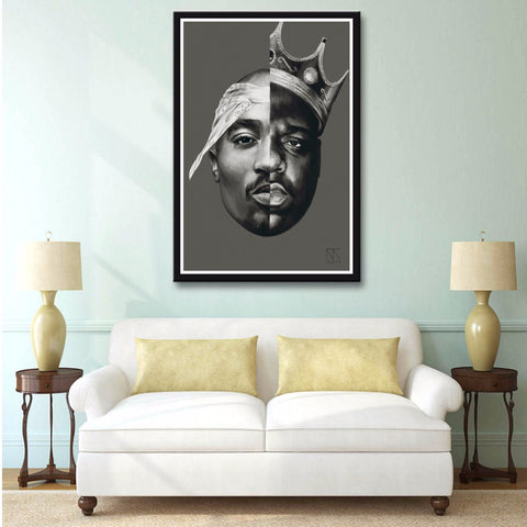 Image of 2Pac Notorious B.I.G Tupac Biggie Rap
