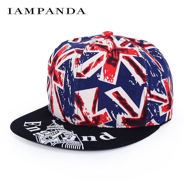 Iampanda Rushed Sale Adult Brand Cap 2017 Cotton Meter Word Flag Baseball Dad Hat Snapback Hip Hop Caps Rapper Hats For Fashion