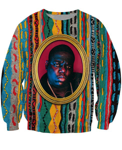 Biggie 3D Sweatshirt Pullovers