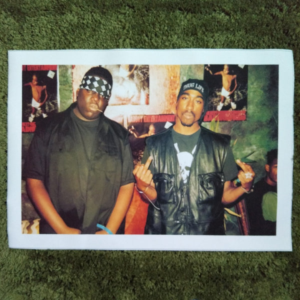 Notorious B.I.G Tupac Biggie Poster Canvas