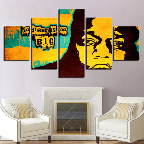 Image of Notorious BIG Canvas