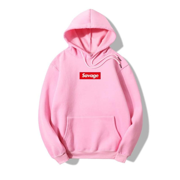 2018 100% Cotton 21 Savage Street Wear Woolcotton Suprem Hoodies Parody No Heart X Savage Hoodie Sweatshirt Men Women Hip Hop