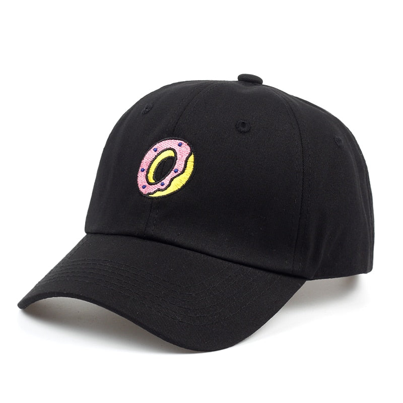 b3dde87b1 New DONUT Hat Dad Embroidered Cap Polo Style Baseball cap brand Hip hop  snapback cap hats wholesale
