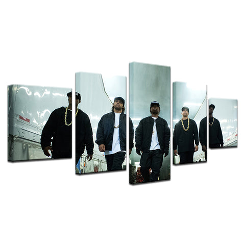 5 Pcs/set Classic Movie Straight Outta Canvas