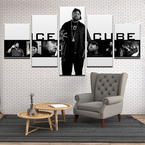 Image of Ice Cube Canvas
