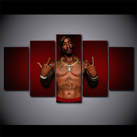 Image of Tupac 2Pac Rapper Wall Art