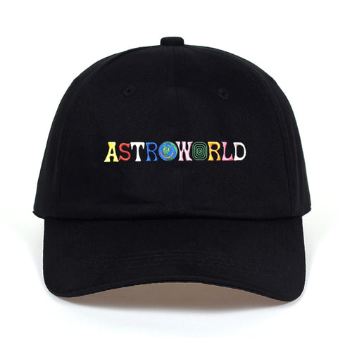 Travi$ Scott latest album ASTROWORLD Dad Hat 100% Cotton High quality embroidery Astroworld Baseball Caps Unisex Travis Scott