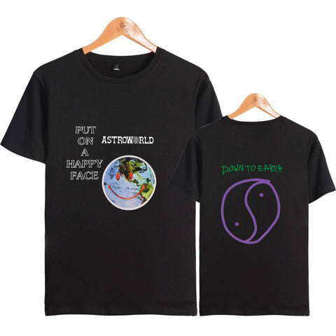 Image of T - shirt Travis Scotts ASTROWORLD