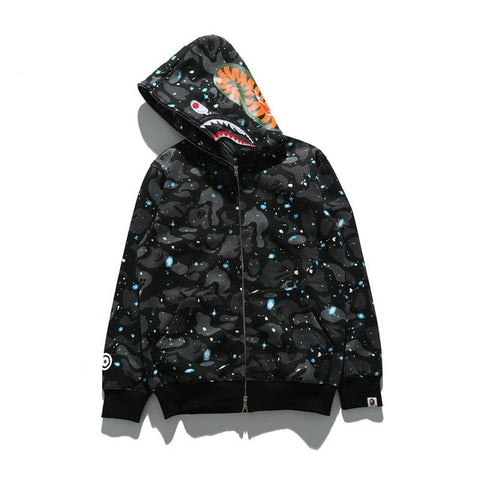 Image of bape shark hoodie sweatshirt brand original bathing ape