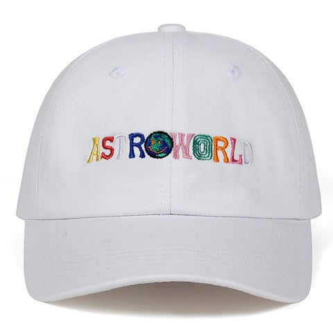 Image of Travi$ Scott latest album ASTROWORLD Dad Hat 100% Cotton High quality embroidery Astroworld Baseball Caps Unisex Travis Scott