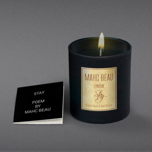Stay. 300g Black Aoud & Red Roses Black Edition