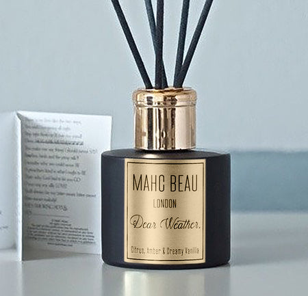 Stay. Luxury Room Diffuser  (Black Aoud & Red Roses)