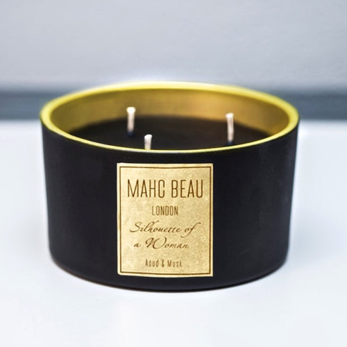 Black Wax Candles