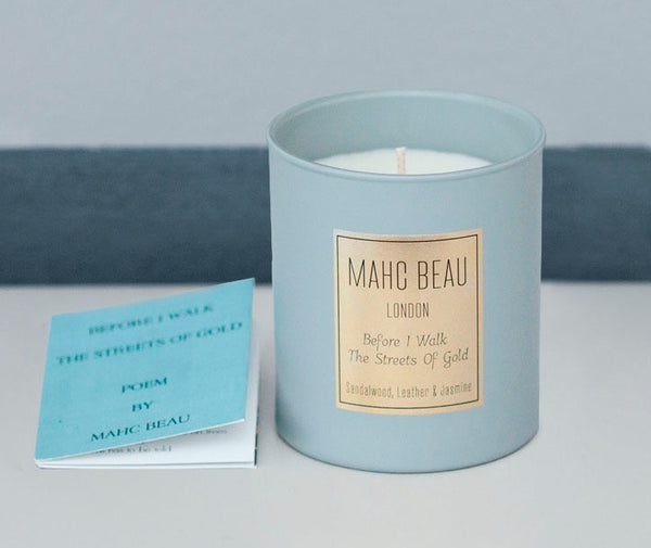 luxury perfumed candles