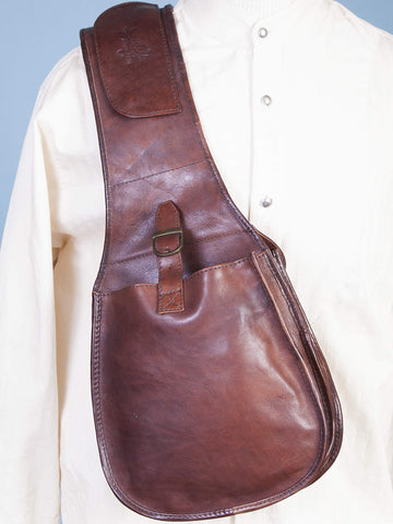 Scully Men's Travel Bags Classic Leather Saddle Bag