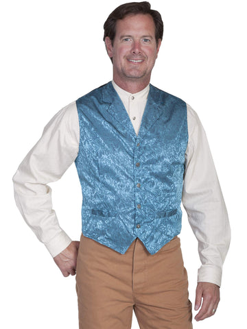 Scully Men's Vests Two Welt Pocket Exquisite Vest