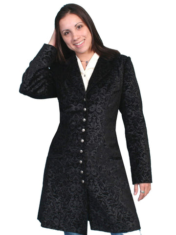 Scully Women's Jackets Flocked Cotton Coat