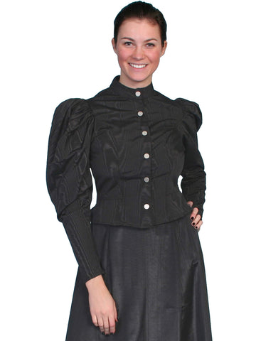 Scully Women's Blouses 1880S Style Puff Sleeve Blouse