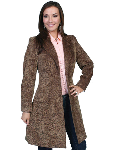 Scully Women's Coats Chenille Frock Coat