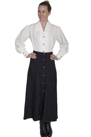 Scully Women's Skirts Button Front Skirt