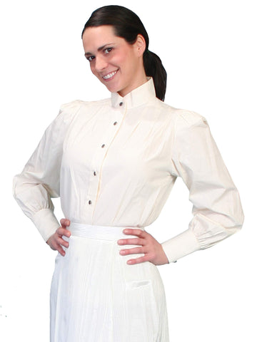 Scully Women's Blouses Victorian Style Blouse