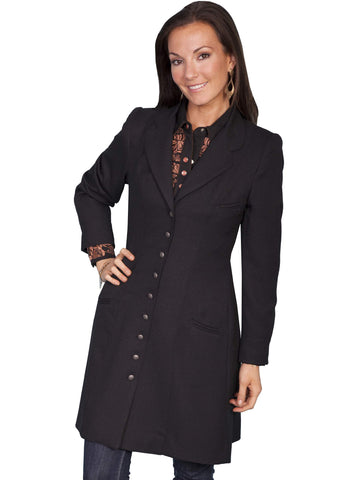 Scully Women's Coats Wool Crepe Frock Coat