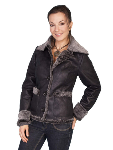 Scully Women's Jackets Fashionable Faux Fur Jacket