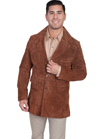 Scully Men's Coats Suede Town Coat