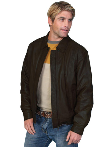 Scully Men's Jackets Premium Lambskin Jacket With Lay