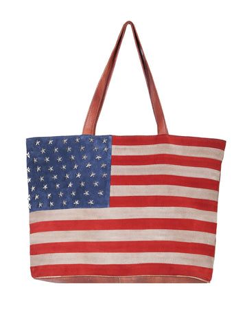 Scully Women's Handbags Suede Flag Handbag