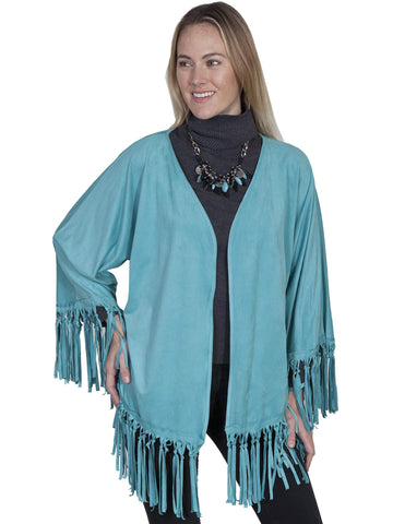Scully Women's Wraps & Shawls Knotted Fringe Wrap