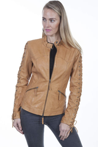 Scully Women's Jackets Stunning Lamb Skin Jacket