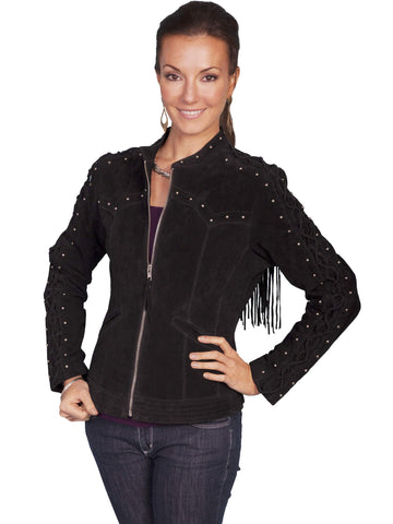 Scully Women's Jackets Contemporary Western Style Sued