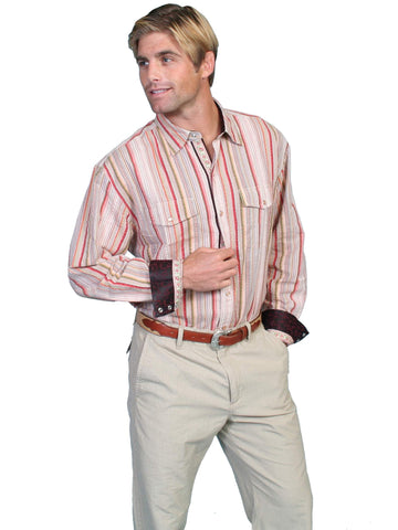 Scully Men's Shirts 100% Cotton Signature Series Seers