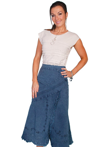 Scully Women's Skirts 100% Peruvian Cotton Skirt With
