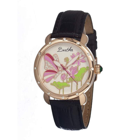 Bertha Br1606 Stella Ladies Watch