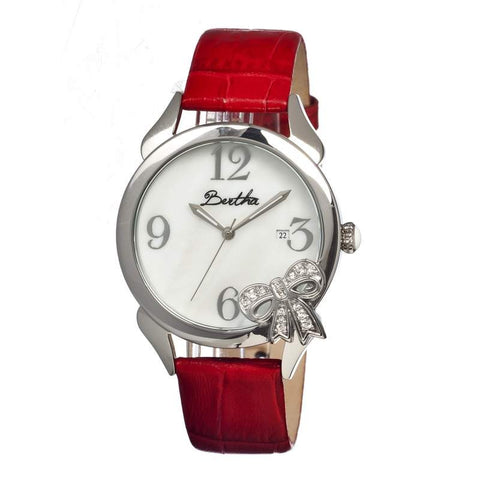 Bertha Br2103 Bow Ladies Watch