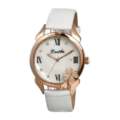 Bertha Br2204 Clover Ladies Watch
