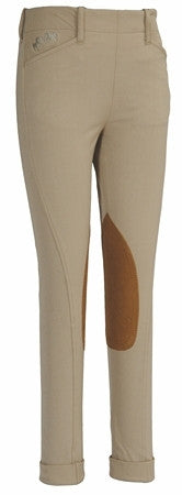 Equine Couture Children's Coolmax Champion Jods- Side Zip