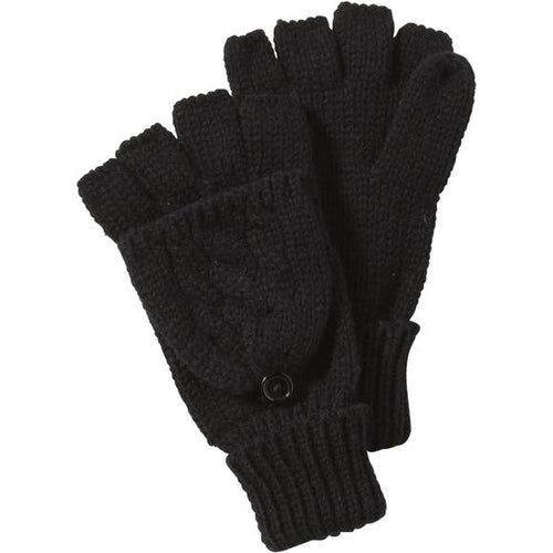 Dove Cableknit Mittens