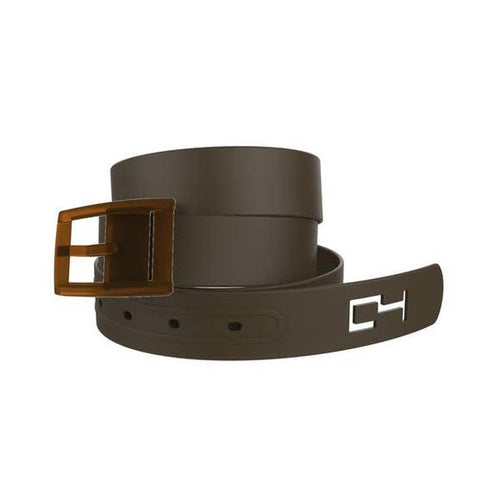 Classic Brown Belt with Brown Buckle Combo