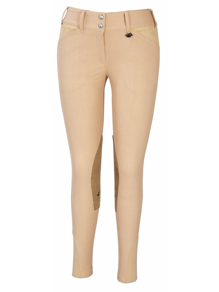 CLOSEOUT - Equine Couture Coolmax Champion Breeches- Front Zip