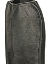 Grand Prix Full Grain Leather Half Chaps - LC