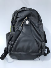 Black with Green Icon Backpack