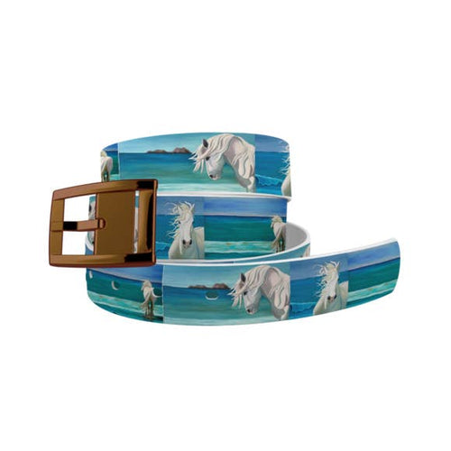 Leslie Anne Webb - Sam at the Beach Belt with Bronze Chrome